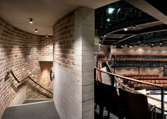 Liverpool Everyman Theatre by Haworth Tompkins with old and new bricks