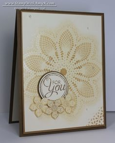 Hello, Doily With Petite Petals & January Ordering Special Winners!! - Stampin' Up!