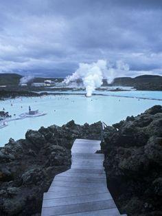 Blue Lagoon, Grindavik, Nr. Reykjavik, Iceland