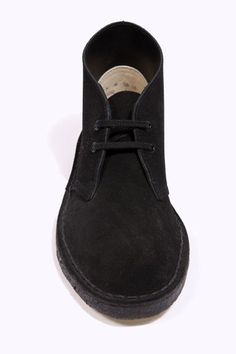 clarks originals black desert boots