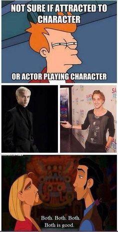 I'm still torn I think both but mostly Draco malfoy
