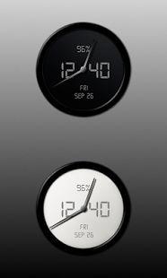 Aion-Zooper clock widget pack- screenshot thumbnail