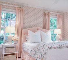Big Girl Bedrooms, Pink Bedrooms, Guest Bedrooms, Girls Bedroom, Bedroom Decor, Girl Rooms, Bedroom Ideas, Girl Bedroom Designs, Dream Rooms