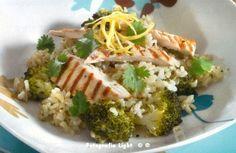 Brown Rice with Broccoli Lemon 1