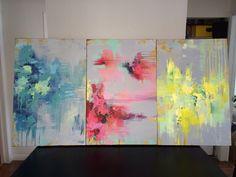 abstract art, Primary colours by amanda & amanda
