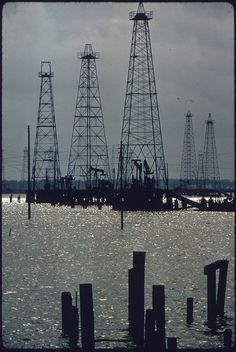 Abandoned Oil Field 15 Miles South of Houston, 05/1972