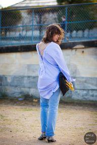 Paris Fashion Week SS 2016 Street Style: Irina Lakicevic