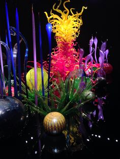 Chihuly Museum Seattle (truly AMAZING)