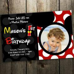 mickey mouse invitations | Mickey Mouse Invitation Index Pic #24