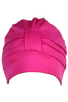 Adjustable Polyester Latex Lined Turban Cap Hat