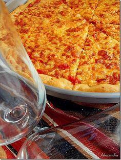 Μα...γυρεύοντας με την Αλεξάνδρα: Ζύμη για πίτσα