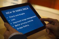 Haiku Deck 2.0 Brings Charts, Graphs And Lists To Its iPad Presentation Tool