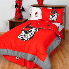 Georgia Bulldogs Collegiate Bed in a Bag Set