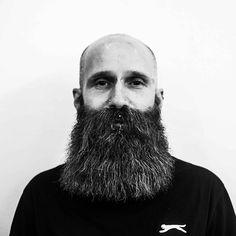imonkeyaround:#Bearded  @liamthebarber Bald With Beard, Bald Men, Beard Love, Hairy Men, Bearded Men, Beard And Mustache Styles, Beard No Mustache, Hair And Beard Styles, Viking Beard