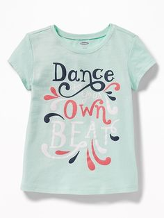 The Children/'s Place Girls Graphic Glitter Donut Bully Long Sleeve Tee Shirt NWT