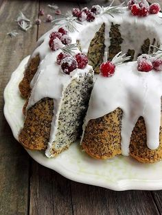 Kulinarne Inspiracje: Babka piaskowa z makiem