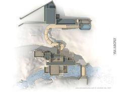 Imagenes de la casa de la cascada planos