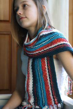 """Fiesta"" Knit Scarf"