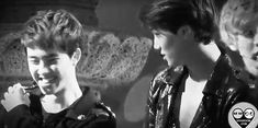 ''I am scared of Kyungsoo hyung at first .''  THE LOVE STORY BEGINS .