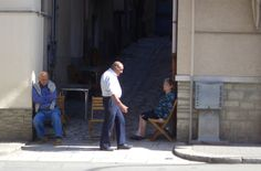 Oldies in Sicily, taking it easy