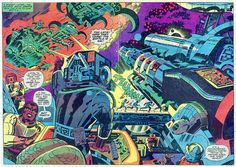 Captain Victory #01a by Jack Kirby by Derek Langille
