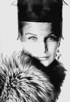 Sunny Harnett photographed by Irving Penn. Vogue UK, December 1958.