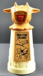 "Vintage Whirley Industries Moo Cow Creamer - 6.5"" Tall"