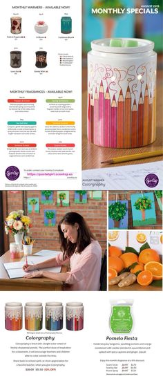 Jbraunbeck.scentsy.us  Time for back to school what a beautiful warmer for school