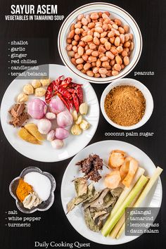 Experience the greatest Indonesian soup! The broth is light and infused with tamarind, lemongrass, and shrimp paste. Chinese Soup Recipes, Asian Recipes, Indonesian Sambal Recipe, Indonesian Cuisine, Asian Vegetables, Healthy Vegetables, Shrimp Paste, Malaysian Food