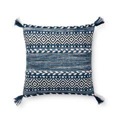 Authentic Vintage Indigo Mud Cloth Pillow Cover Wyome 24 X