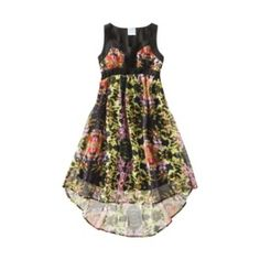 D-Signed Girls Dress - Multicolor