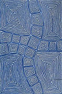 Thomas Tjapaltjarri ~ Tingari, 2012 - could be used as inspiration for a mola style design designated from Aboriginal art. Aboriginal Painting, Aboriginal Artists, Dot Painting, Encaustic Painting, Indigenous Australian Art, Indigenous Art, Arte Tribal, Tribal Art, Ethno Design