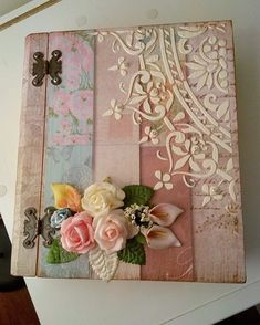 Discover thousands of images about alıntıdır Decoupage Vintage, Napkin Decoupage, Decoupage Box, Handmade Crafts, Diy And Crafts, Arts And Crafts, Paper Crafts, Art Sur Toile, Deco Rose