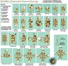 Free Chainmail Patterns Chain Maille | Diavma's Handcrafted Chainmaille Jewellery: Chainmaille Tutorials by megan