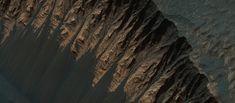 Photos couleur de Mars   Beauté sauvage   telescope photo noir et blanc NASA mars image hirise couleur