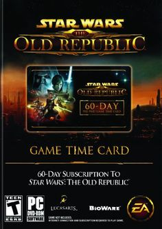 Star Wars: The Old Republic 60-Day Pre-paid Time Card - PC