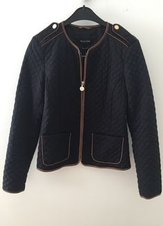 Massimo dutti pikowana kurtka