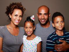 Stunning black couples photography Boris Kodjoe wife Nicole, & kids photography