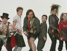7 Never-Before-Seen Publicity Stills from 'The School of Rock' The Best Films, Iconic Movies, Good Movies, Rock Costume, Rock Music Quotes, Theater, Tenacious D, School Of Rock, Sara Bareilles