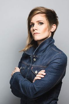 Stand-up comedian and columnist Cameron Esposito takes others with her to the top