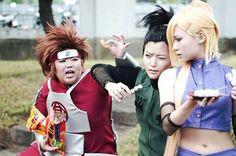 #Naruto #ナルト #Choji #Shikamaru #Ino #cosplay #コスプレ