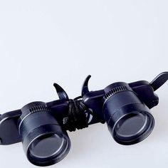 Fishing Optic Telescope Binoculars Glasses Eyewear Style Opera Measurement Theater Match Double Eye Glasses Lens Magnifier Tools