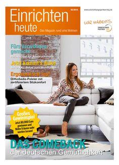 Einrichten heute -  Das Magazin rund ums Wohnen - Ausgabe 02/2015 - Thema: Polster - Gültig bis 26.02.2016 -