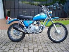 1971 Honda SL70 Motosport