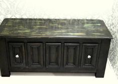 Skrzynia na buty Old Black Cabinet, Storage, Furniture, Home Decor, Clothes Stand, Purse Storage, Decoration Home, Room Decor, Closet