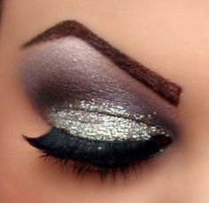 I Need Glitter eye shadow. Love this. Adds a pop to the eye.