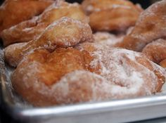 Malasadas (Portugese Donuts) | never knew how to spell it, but I dang sure know how to eat them... OMG