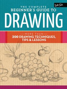 More than 200 drawing techniques, tips & lessons With helpful tips and easy to follow step-by-step lessons, The Complete Beginner's Guide to Drawing is the perfect resource for artists looking to hone their drawing style and technique.The Complete Beginner's Guide to Drawing is a comprehensive guide to drawing a vast array of subjects, from landscapes and flowers to animals and portraits. This helpful resource begins with a thorough introduction to the essential tools and materials artists…