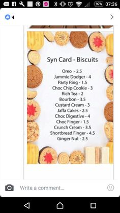 Untitled astuce recette minceur girl world world recipes world snacks Slimming World Shopping List, Slimming World Syns List, Slimming World Survival, Slimming World Cake, Slimming World Syn Values, Slimming World Desserts, Slimming World Recipes Syn Free, Slimming World Plan, Slimming World Biscuits