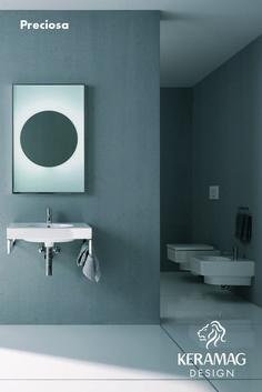 The Preciosa II collection's basin bottletrap by Keramag Design UK. Find more at: http://www.keramagdesign.com/